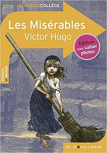 Amazon Fr Les Miserables Extraits Victor Hugo Livres
