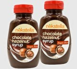 #8: nekstella Natural Sugar Free Chocolate Hazelnut Syrup (2 Pack)