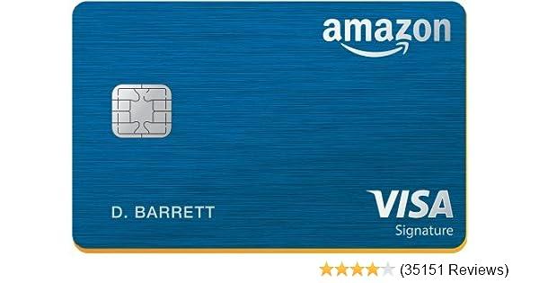 Amazon com: Amazon Rewards Visa Signature Card: Credit Card