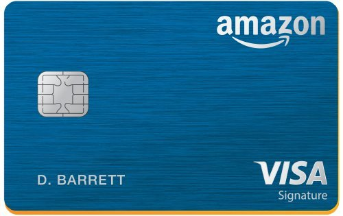 Amazon com: Amazon Rewards Visa Signature Card: Credit Card
