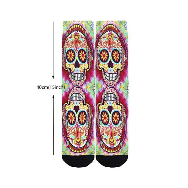 Jinkela English Springer Spaniel Socks, Unisex Fashion Casual Crew Dress Stockings Wedding Gift 4