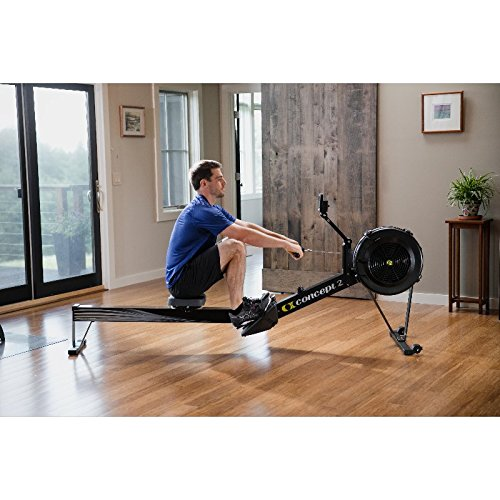 Concept2 Model D with PM5 Performance Monitor Indoor Rower Rowing Machine Black or Gray
