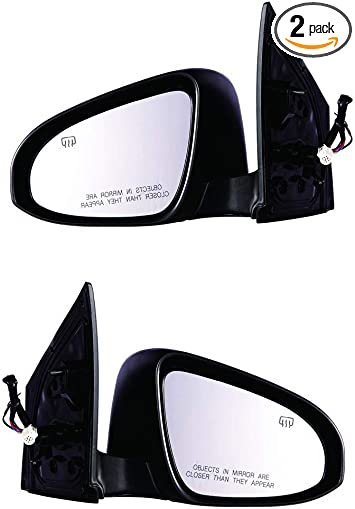 Genuine Toyota Parts 87910-1A650 Passenger Side Mirror Outside Rear View