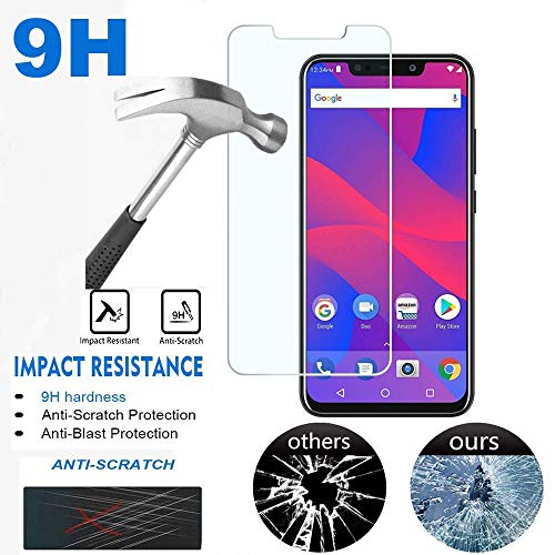 Golden Sheeps Tempered Glass Screen Protector Compatible for BLU R2 Plus 2019-6.2