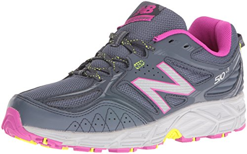 Cheap New Balance Women's WT510RS3 Trail Running Shoes, Dark Grey, 8.5 B US