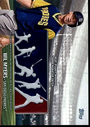 98ee55bc630 Amazon.com  2018 Topps MLB Players Weekend Patches  PWP-WM Wil Myers ...