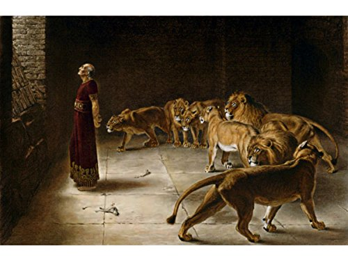Daniel's Answer to The King by Briton Riviere