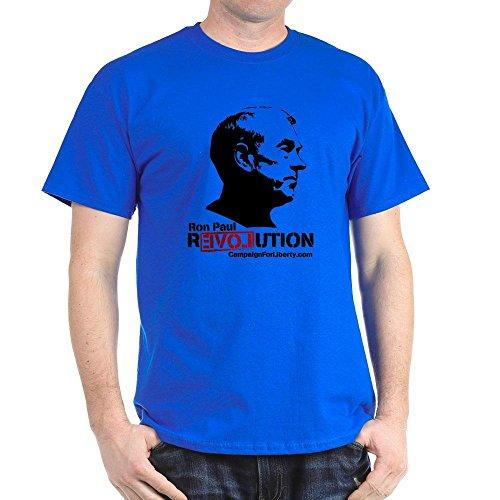 CafePress Ron Paul Revolution - 100% Cotton T-Shirt (Ron Revolution T-shirt Paul)