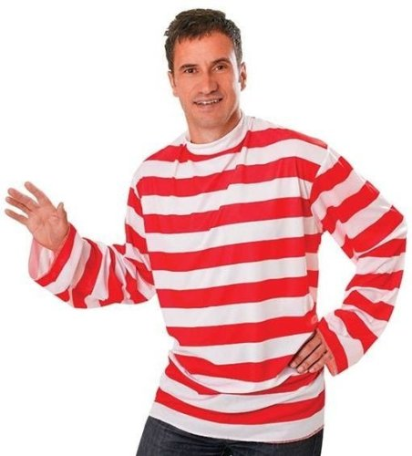 Red & (Red Striped Shirt Costume)