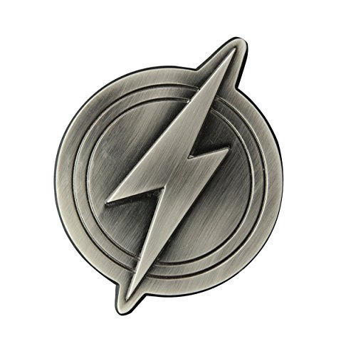 Diamond Select Toys Justice League: The Flash Logo Metal Bottle Opener Toy