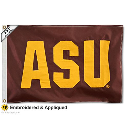 Arizona State Sun Devils 2x3 Foot Embroidered Flag