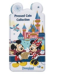Mickey Mouse and Friends Pressed Coin Collection Holder - Disneyland