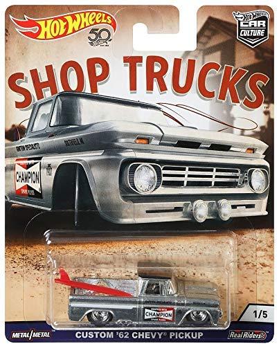 Hot Wheels Custom 62 Chevy Pickup Vehicle]()