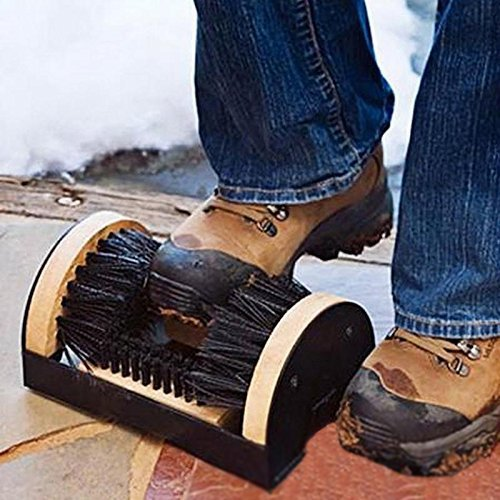Evokem Shoe Boot Brush Brushes Scrubber Mud Dirt Cleaning Cleaner for Indoor/Outdoor[US STOCK]