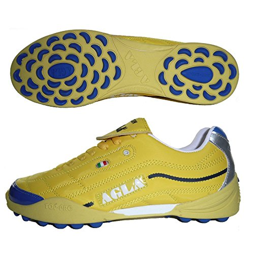 AGLA PROFESSIONAL EVOLUTION EXE TOP YELLOW 2 Chaussures de football futsal futsal à 5