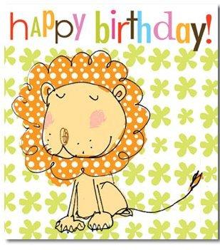 Feliz cumpleaños - León: Amazon.es: Oficina y papelería