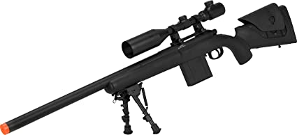 Amazon com : Evike APS M40A3 Realistic Action Airsoft Sniper