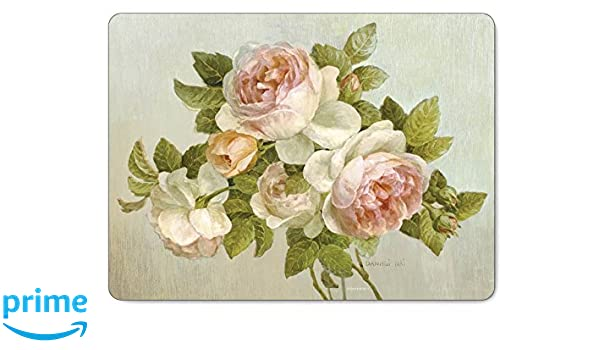 Pimpernel Antique Roses - Bandejas individuales (6 unidades ...