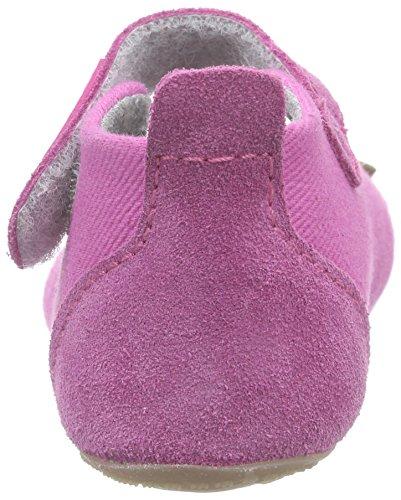 Living Kitzbühel Baby Ball. Herz/Vogel - Zapatillas de casa Bebé-Niños Rosa - Pink (pink 340)