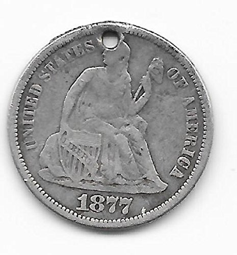 1877-liberty-seated-silver-dime-love-token-with-wonderful-monogram-vintage-10-cents-verns-card-coin-