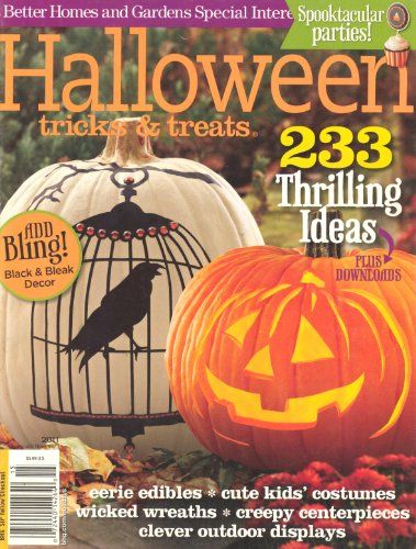 (Halloween Tricks & Treats 2011 (Better Homes & Gardens,233 Thrilling)