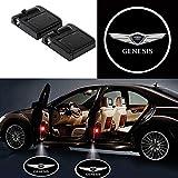 Bearfire Fit Genesis Door Lights 2PCS Car Door Projector Light Led Welcome Lights Car logo Suitable For All Models