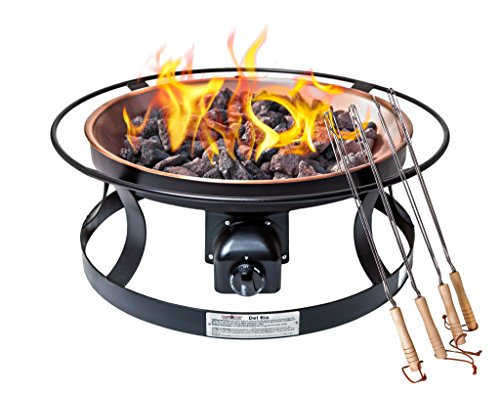 Camp Chef FP29LG Propane Del Rio 'Matchless ignition' Gas Firepit - Chef Portable Propane