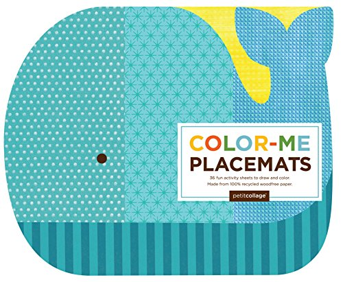 (Petit Collage Color Me Placemats,)