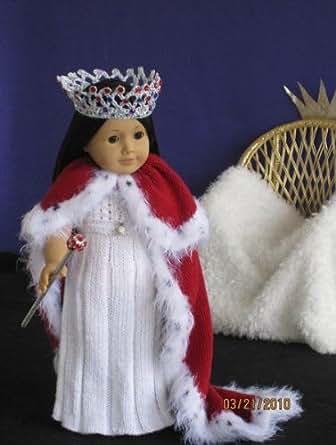 A Princesss Dream Knitting Pattern for 18 inch dolls ...