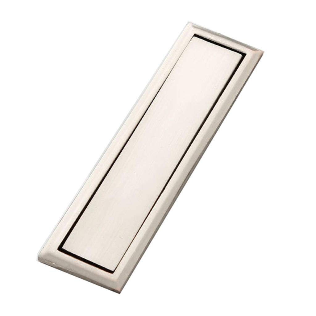 ROBAG Metal Cabinet Door Handle for Shoe Cabinet Wardrobe Kitchen Wine Cabinet Drawer Decoration and Embedded Installation Use Hole centres: 64 mm