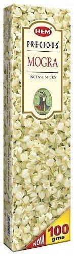Incense Mogra Precious (Agarbathi Fragrance HEM PRECIOUS MOGRA 100g INCENSE STICKS)