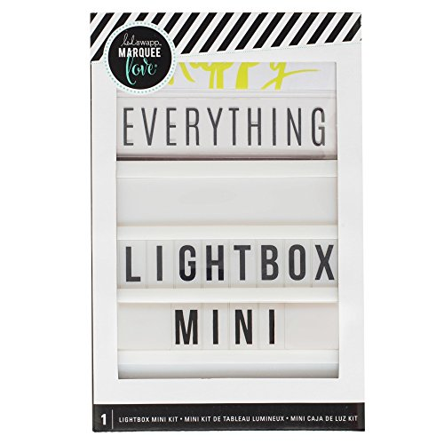 American Crafts Heidi Swapp Mini Lightbox Display - Parties, Event, and Room Decoration - Scrapbooking Tools and Essentials -