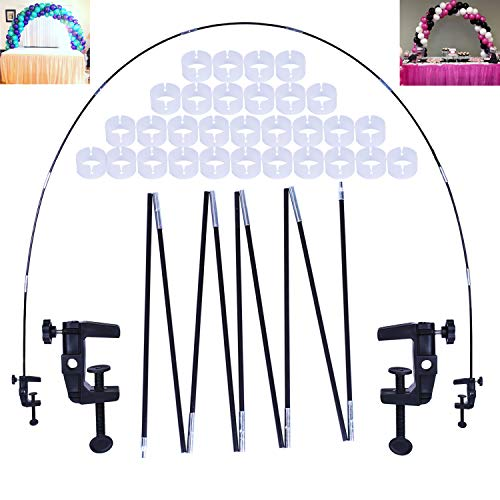 (LEKUSHA 12ft Balloon Arch Kit with 1.9