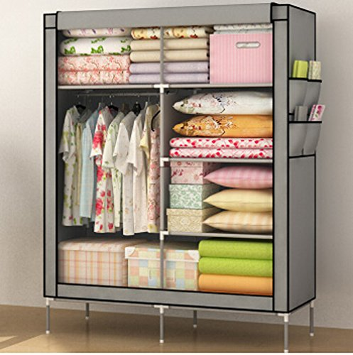 Generic Home Furniture Folding Portable Clothes Wardrobes Closet Storage Cabinets Hot by Generic