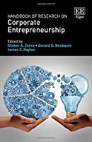 Handbook of Research on Corporate Entrepreneurship Front Cover