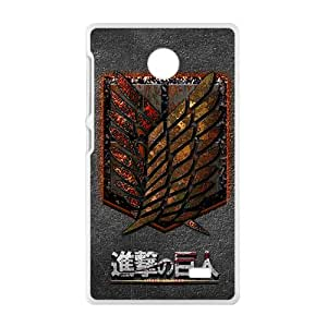 Attack On Titan New Style High Quality Comstom Protective case cover For Nokia Lumia X