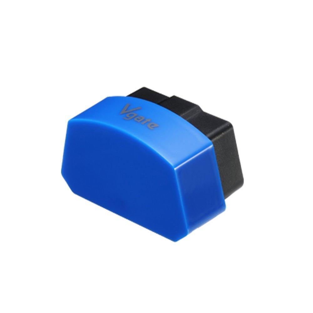 AUTOS-FAMILY Original Vgate iCar3 Bluetooth Mini OBD2 Wireless Bluetooth iCar 3 OBDII Scanner for Torque Android Car Self-Diagnosis Scan Tool (Blue)