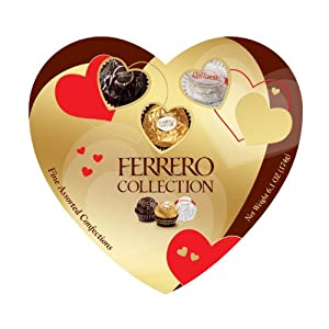 Ferrero Collection Heart, 16 Count,NET WT 6.1 OZ(174g)