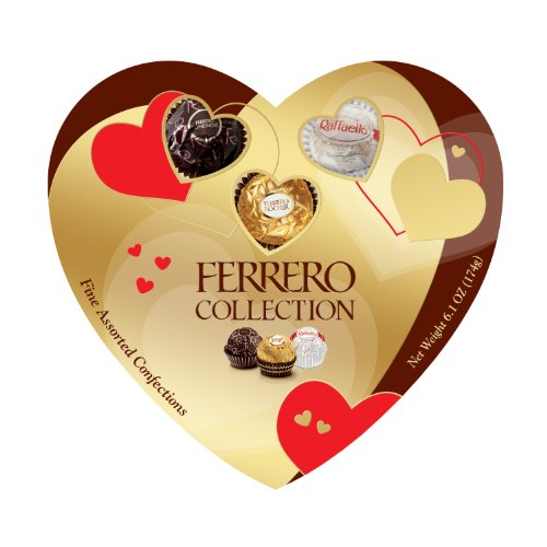 Ferrero Collection Heart  16 Count Net Wt 6 1 Oz 174G