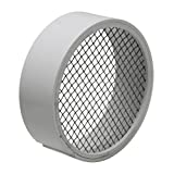 Raven TV2422 PVC Termination Vent with Stainless Steel Screen, 4