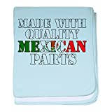 CafePress - Quality Mexican Parts baby blanket - Baby Blanket, Super Soft Newborn Swaddle