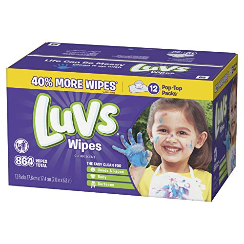 Luvs Luvs Baby Wipes 12x 864 Count, 864 Count