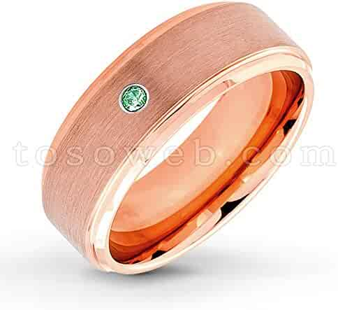Shopping Emerald - Wedding Rings - Jewelry - Men - Clothing