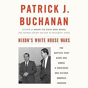 Nixon's White House Wars Audiobook