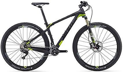 Giant XTC Advanced 29er 129pulgadas Mountain Bike Negro/Verde (2016)