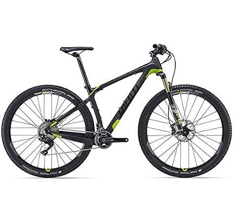 Giant XTC Advanced 29er 1 - Bicicleta de montaña (29 pulgadas), color negro y verde: Amazon.es: Deportes y aire libre