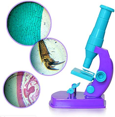 150X for Boys /& Girls Gift Arouse Kids Curiosity SNOWINSPRING Beginners Microscopes S Microscope with Science Experiment Kits