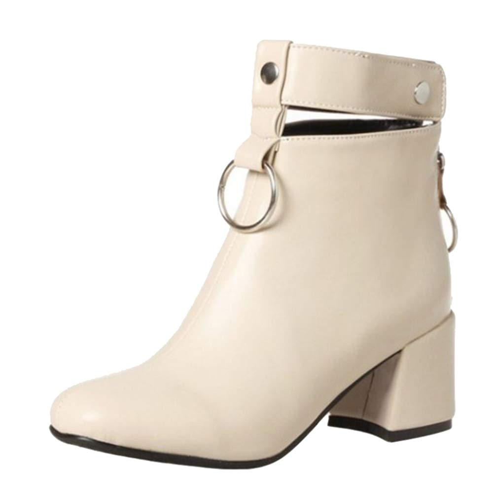 Chicmark , Boots Chelsea 18440 , Femme Chicmark Beige 633c92a - jessicalock.space