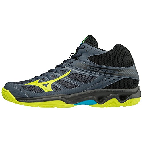 Thunder Mid Homme Multicolore Mizuno Sneakers Blade 001 Basses Syellow Oblue Hawaiocean qEdnH