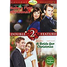 Hallmark Collection Baby's First Christmas and a Bride for Christmas Double Feature Dvd